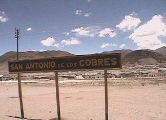 3579 aseguran que en san antonio de los cobres sigue habiendo agua con arsenico