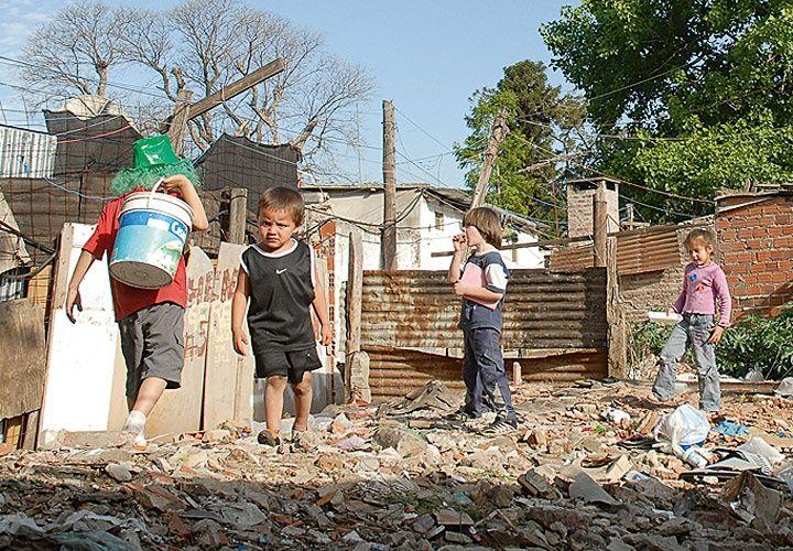 El 48% de los niños son pobres en Argentina