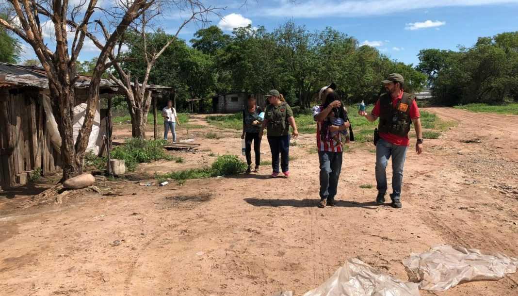 Rescatan a dos jóvenes y un bebé wichis, víctimas de trata en Pichanal y Orán
